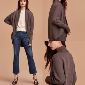 WILFRED • Brown Diderot Cocoon Sweater • XS